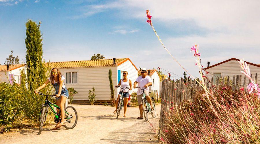 Camping Le Mas Des Lavandes : Camping Valras Plage