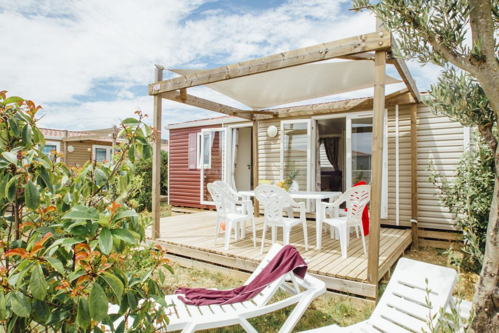 Camping Le Mas Des Lavandes : Cottage Confort Principale