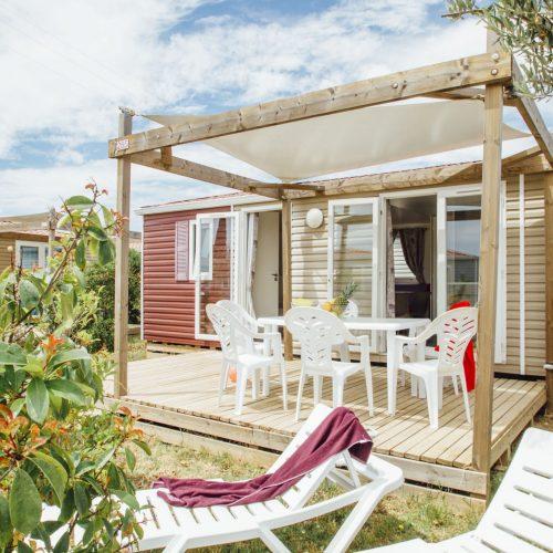 Camping Le Mas Des Lavandes: Cottage Confort Principale
