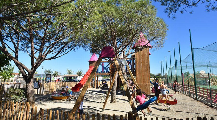 Camping Le Mas Des Lavandes : Activite Enfant Airedejeux