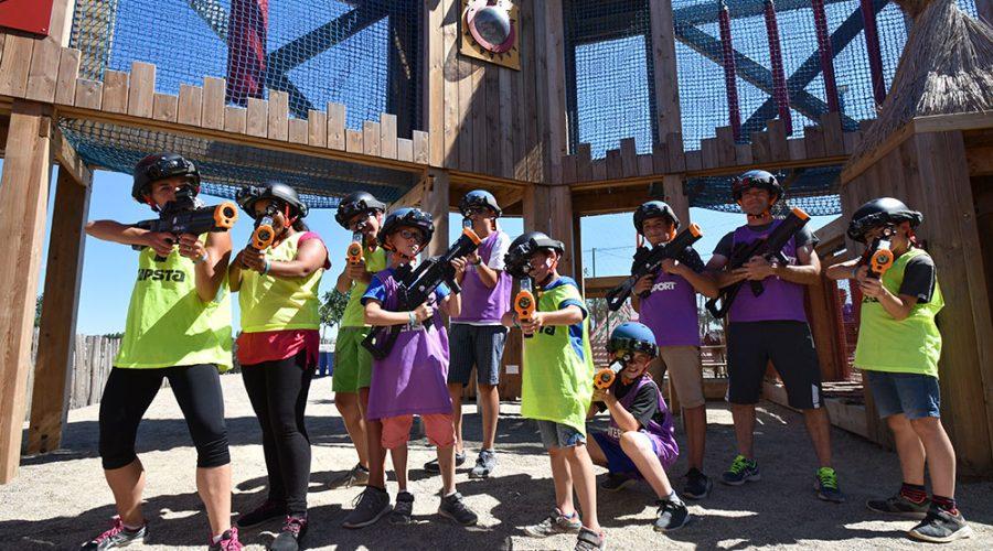 Camping Le Mas Des Lavandes : Activite Enfants Paintball