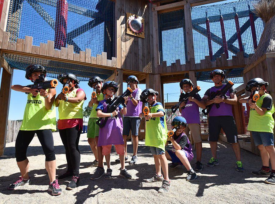 Camping Le Mas Des Lavandes: Activiteit Kinderen Paintball