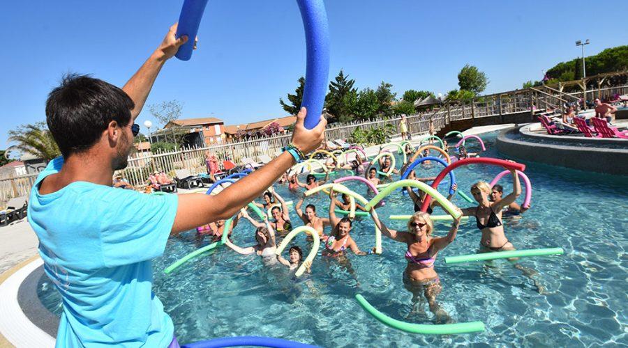 Camping Le Mas Des Lavandes : Activite Sport Aquagym
