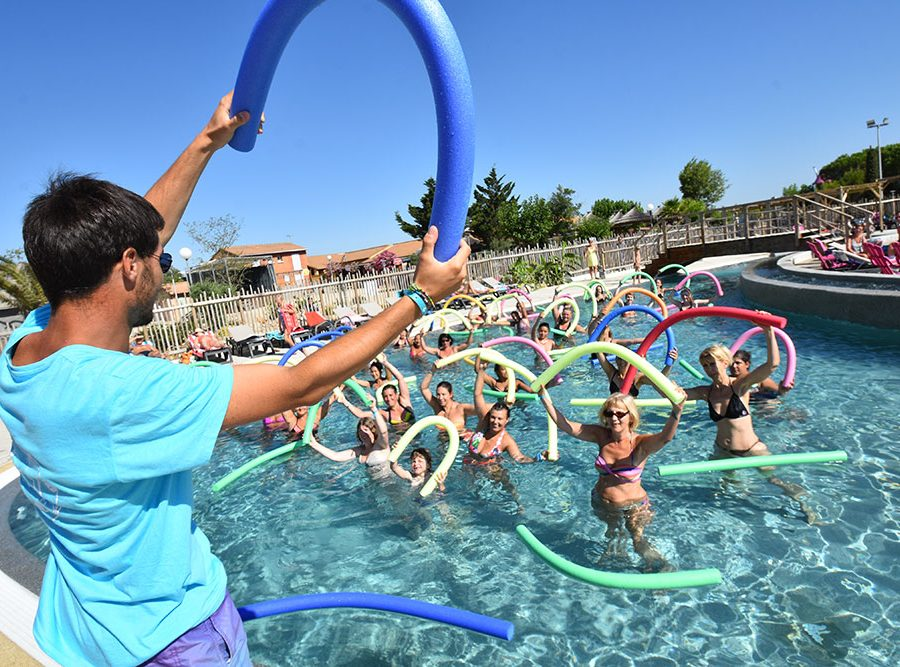 Mas Des Lavandes Campsite: Sports Activity Aqua Aerobics