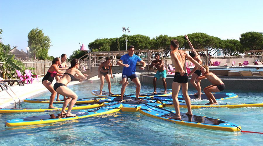 Camping Le Mas Des Lavandes : Activite Sport Paddle