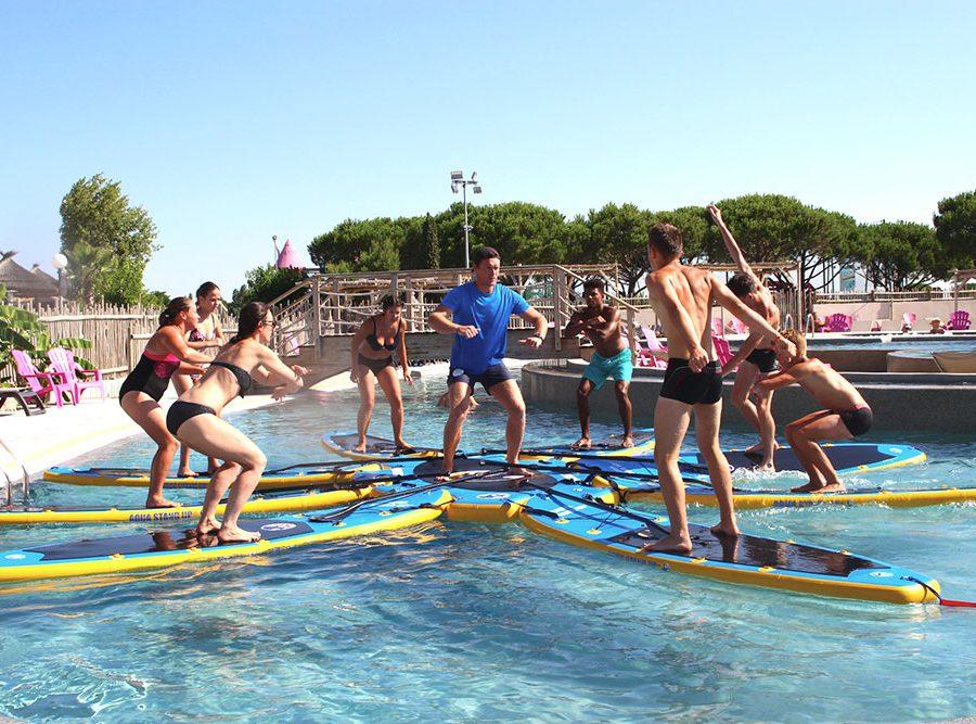 Mas Des Lavandes Campsite: Sports Activity Paddle