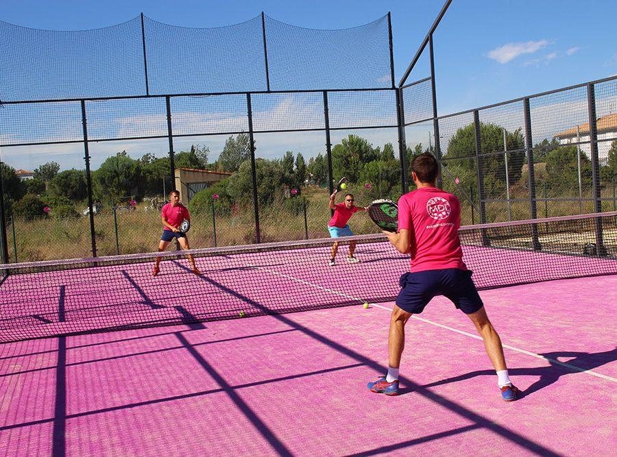 Mas Des Lavandes Campsite: Sports Activity Padel