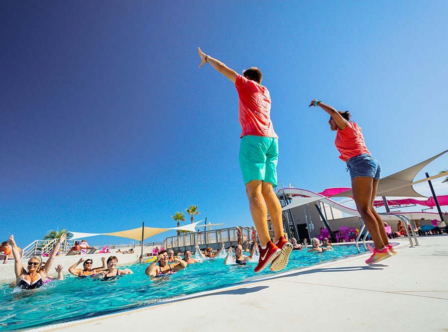 Camping Le Mas Des Lavandes: Activiteit Sport Zwembad