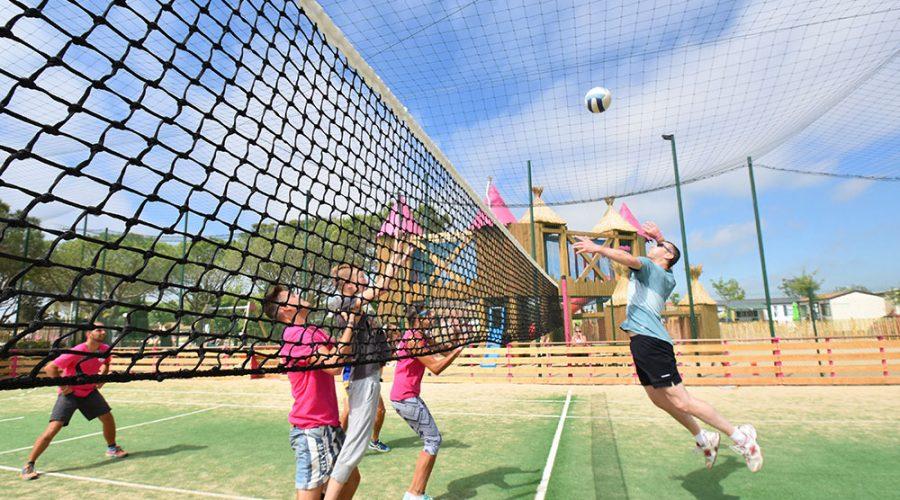 Camping Le Mas Des Lavandes : Activite Sport Volley