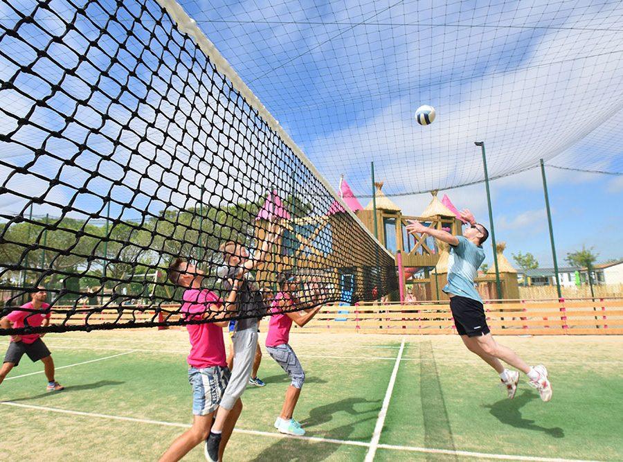 Camping Le Mas Des Lavandes: Activiteit Sport Volley