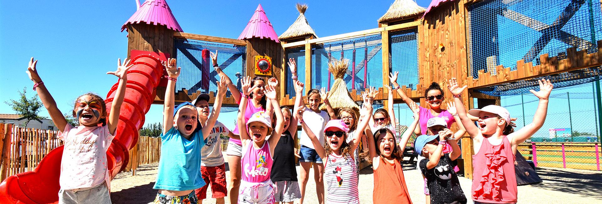 Camping Le Mas Des Lavandes : Animations Enfants