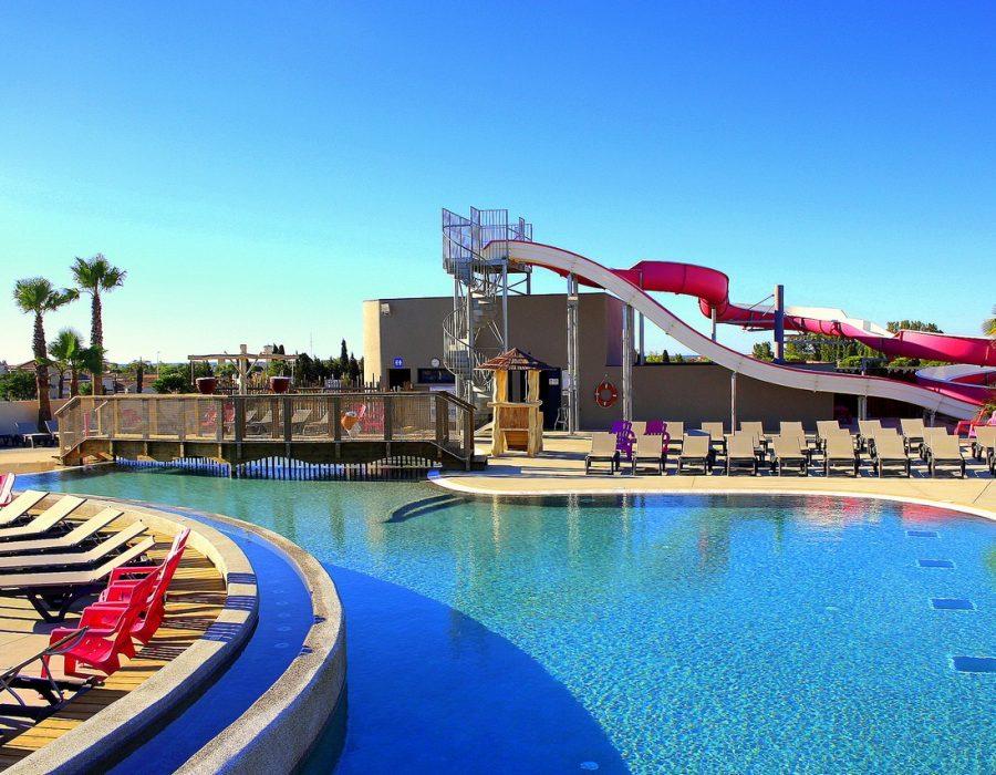 Mas Des Lavandes Campsite: pool area