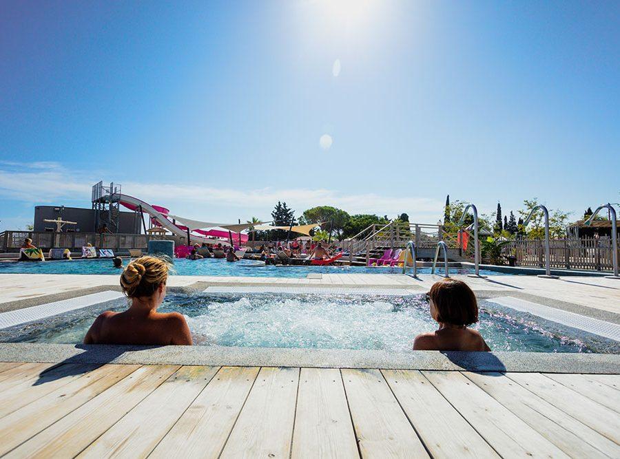 Mas Des Lavandes Campsite: Jacuzzi Spa Campsite