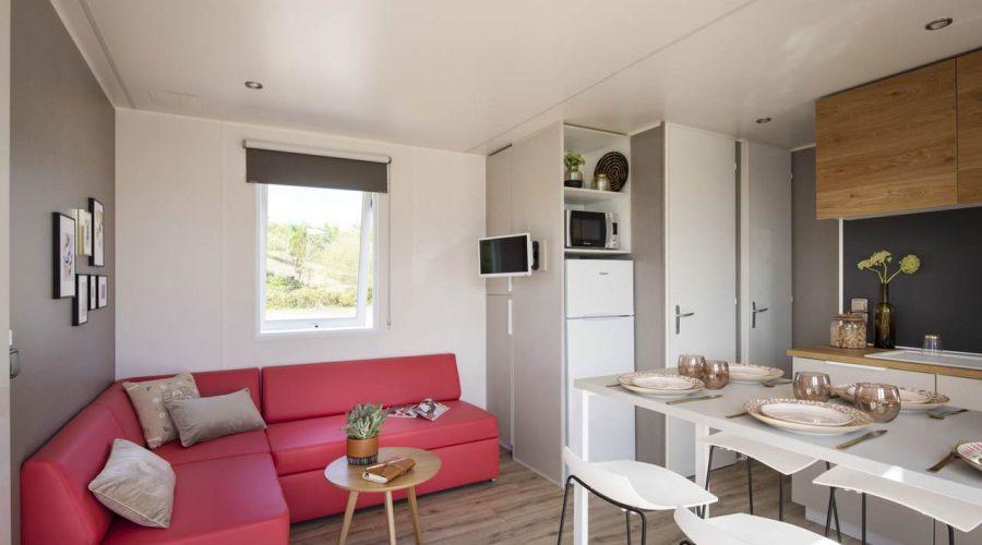 Camping Le Mas Des Lavandes : Mh SunÊlia Conf + Premium 3ch