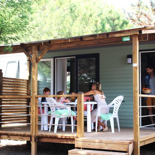 Camping Le Mas Des Lavandes : Mh SunÊlia Conf + Premium 3ch Principale