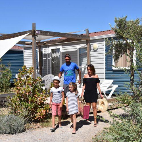 Camping Le Mas Des Lavandes: Mh Sunelia Confort 3kamers Principale