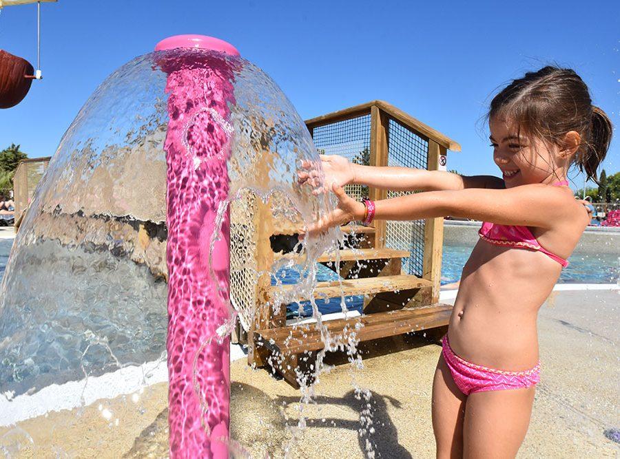 Mas Des Lavandes Campsite: Wading Pool Pool Campsite