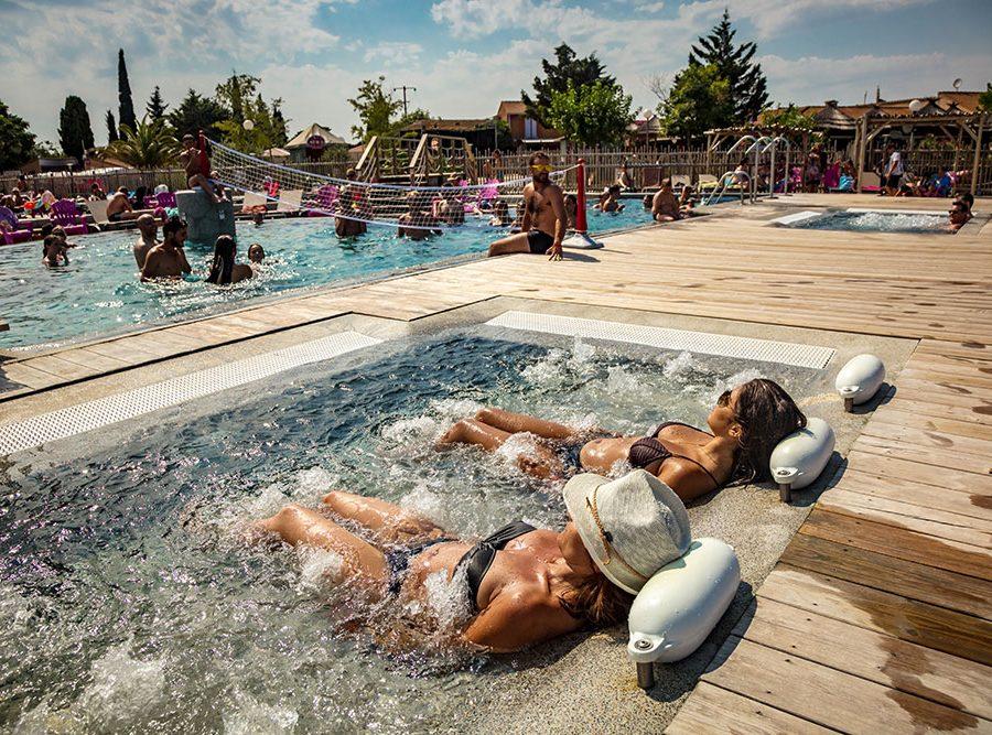Mas Des Lavandes Campsite: Spa Sérignan Campsite