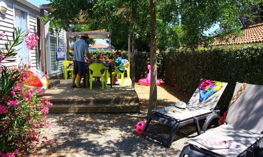 Camping Le Mas Des Lavandes : SunÊlia Confort + 2ch Principale