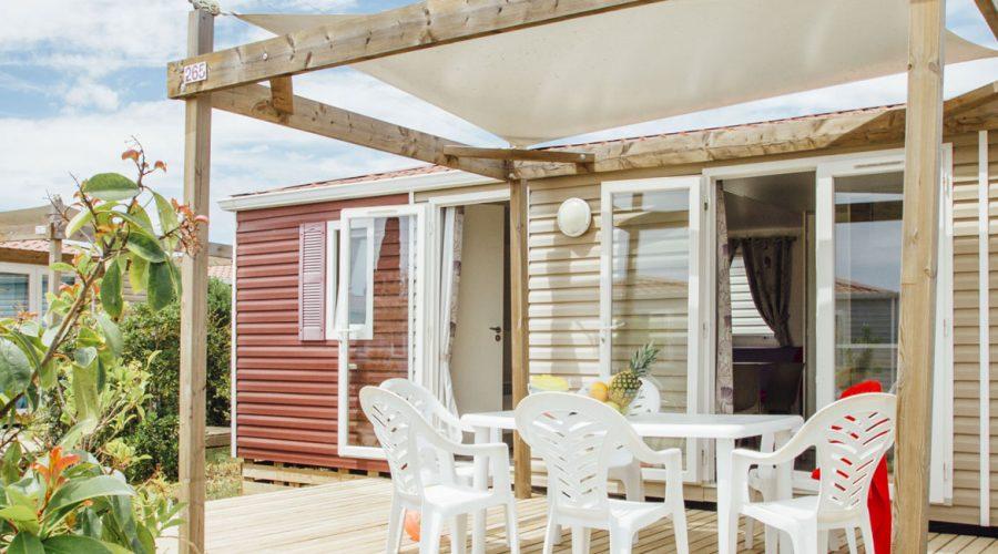 Camping Le Mas Des Lavandes : Cottage Confort Principale 2