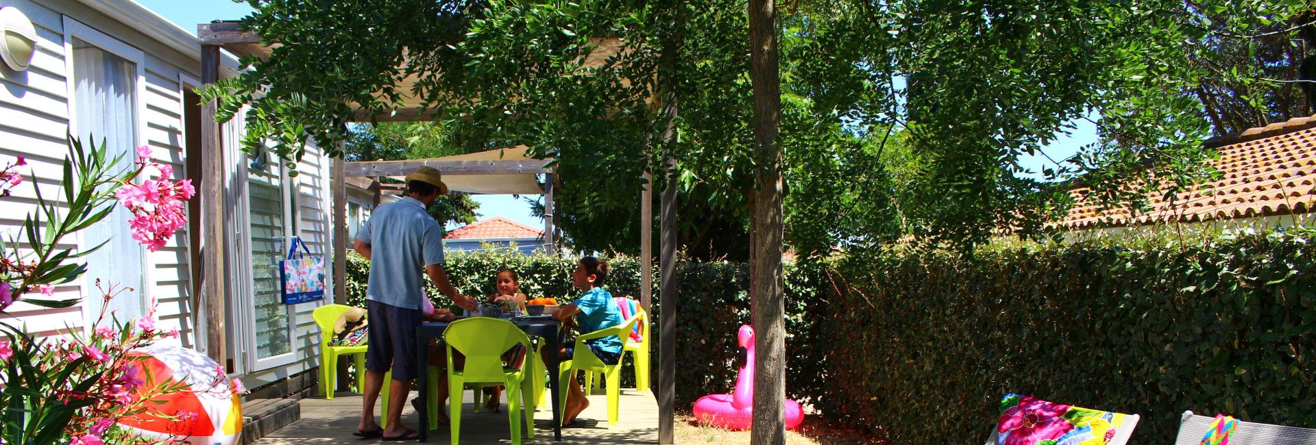 Camping Le Mas Des Lavandes : SunÊlia Confort + 2ch Principale 2