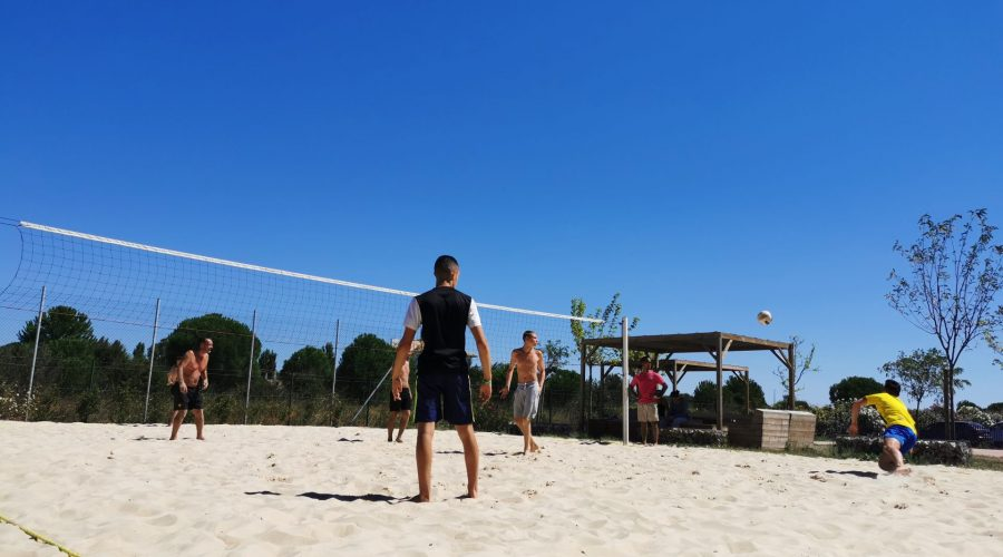 Camping Le Mas Des Lavandes : Beach Volley Mas Des Lavandes (2)