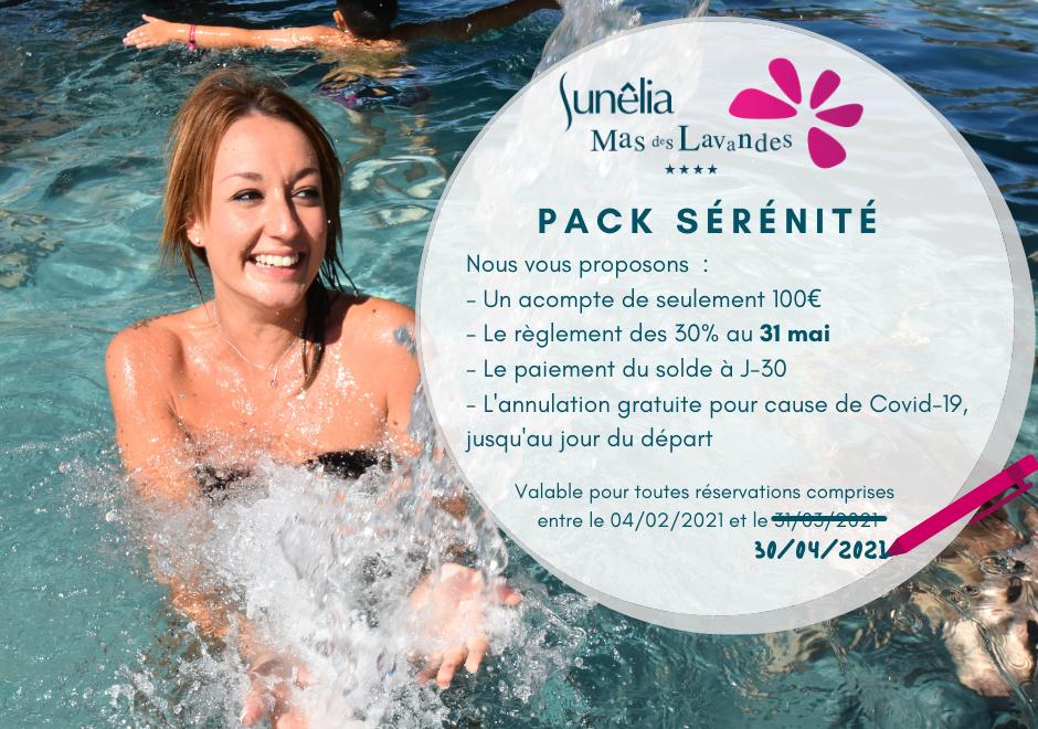Camping Le Mas Des Lavandes : Pack Sérénité