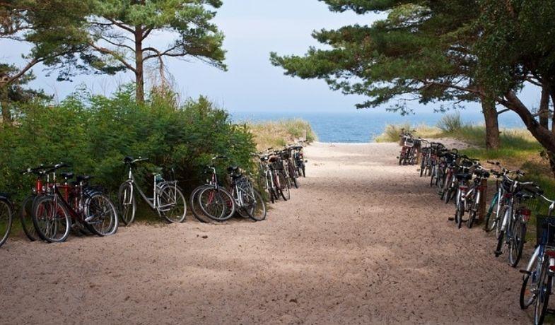 vélo à Valras- Plage Mas des Lavandes